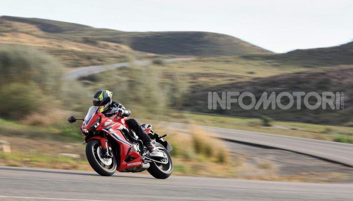 Prova su strada Honda CB650R e CBR650R 2019, caratteristiche, prezzi ed opinioni - Foto 56 di 78