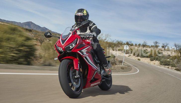 Prova su strada Honda CB650R e CBR650R 2019, caratteristiche, prezzi ed opinioni - Foto 61 di 78