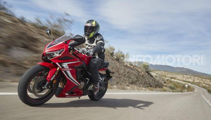 Prova su strada Honda CB650R e CBR650R 2019, caratteristiche, prezzi ed opinioni - Foto 62 di 78