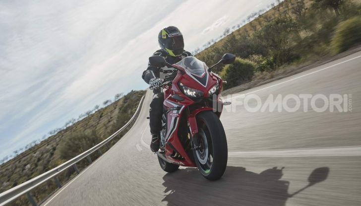 Prova su strada Honda CB650R e CBR650R 2019, caratteristiche, prezzi ed opinioni - Foto 63 di 78