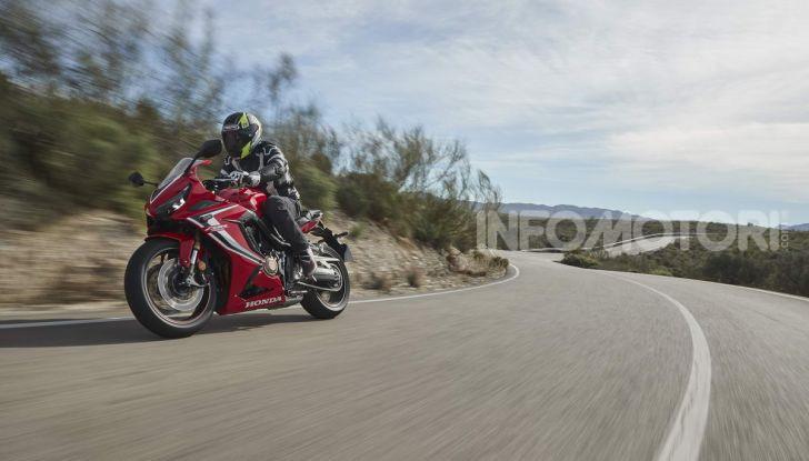 Prova su strada Honda CB650R e CBR650R 2019, caratteristiche, prezzi ed opinioni - Foto 66 di 78
