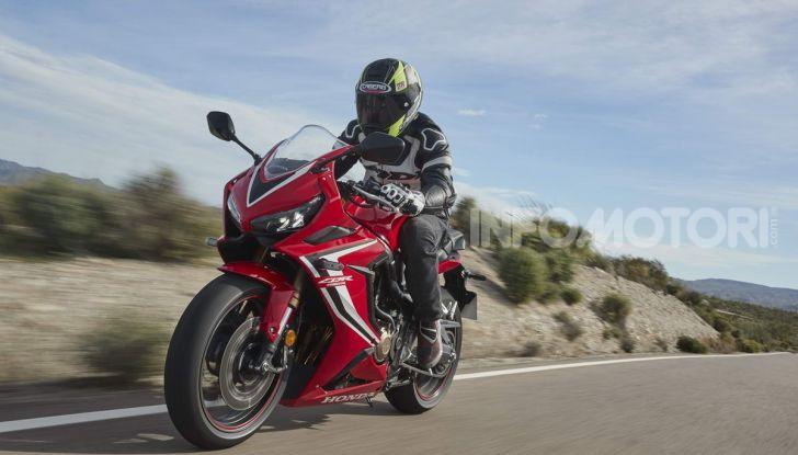 Prova su strada Honda CB650R e CBR650R 2019, caratteristiche, prezzi ed opinioni - Foto 67 di 78