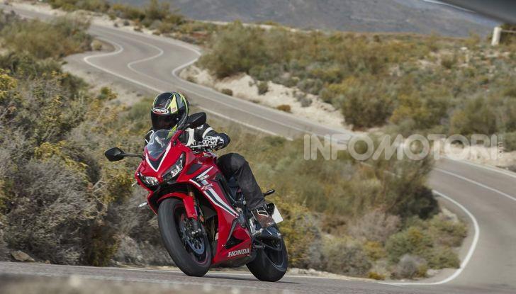 Prova su strada Honda CB650R e CBR650R 2019, caratteristiche, prezzi ed opinioni - Foto 68 di 78