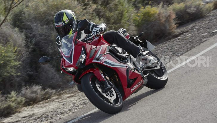 Prova su strada Honda CB650R e CBR650R 2019, caratteristiche, prezzi ed opinioni - Foto 71 di 78