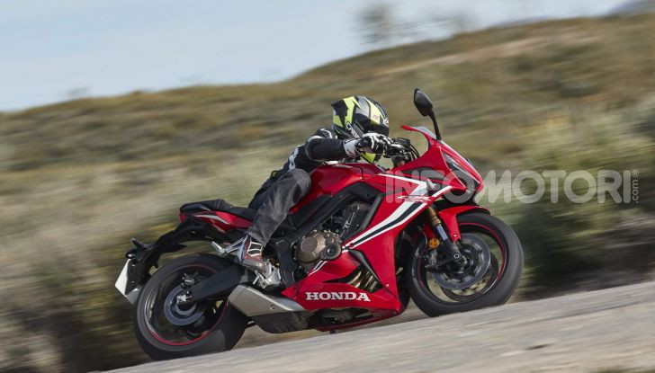 Prova su strada Honda CB650R e CBR650R 2019, caratteristiche, prezzi ed opinioni - Foto 72 di 78