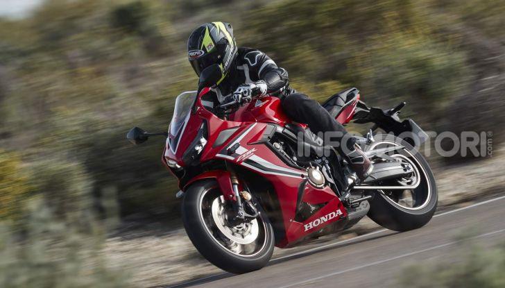 Prova su strada Honda CB650R e CBR650R 2019, caratteristiche, prezzi ed opinioni - Foto 74 di 78