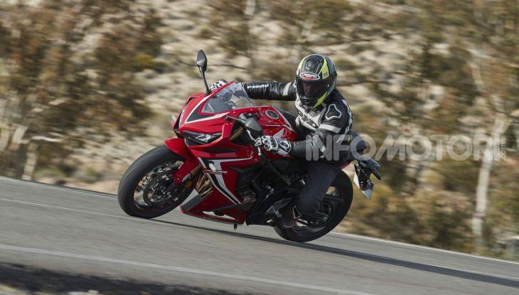 Prova su strada Honda CB650R e CBR650R 2019, caratteristiche, prezzi ed opinioni - Foto 76 di 78