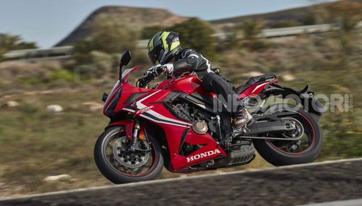 Prova su strada Honda CB650R e CBR650R 2019, caratteristiche, prezzi ed opinioni - Foto 77 di 78