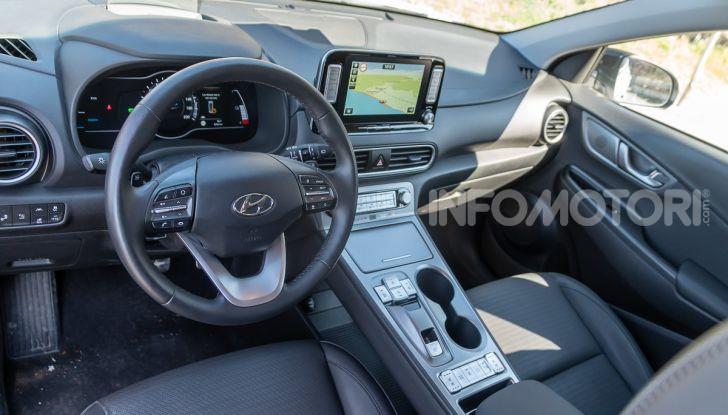 Hyundai Kona Electric interni