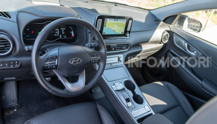 Hyundai Kona Electric interni