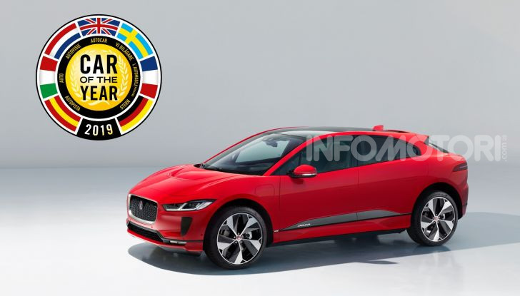 Jaguar I-Pace è Auto dell'Anno 2019 - Foto 5 di 25