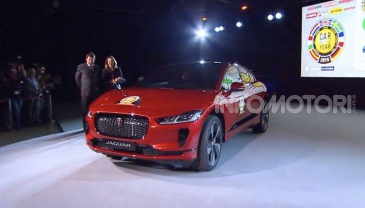 Jaguar I-Pace è Auto dell'Anno 2019 - Foto 3 di 25
