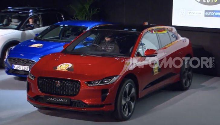 Jaguar I-Pace è Auto dell'Anno 2019 - Foto 2 di 25