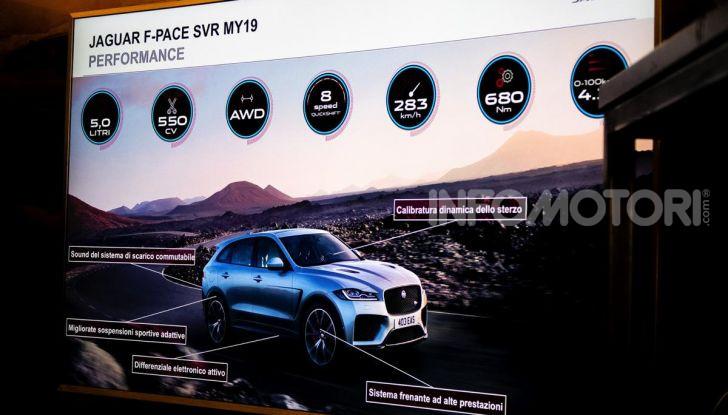 Prova Jaguar F-Pace 2019: caratteristiche, opinione e prezzi del SUV Premium - Foto 13 di 22