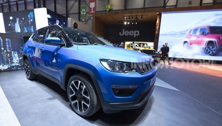 Jeep Renegade e Compass PHEV con tecnologia ibrida plug-in - Foto 12 di 12