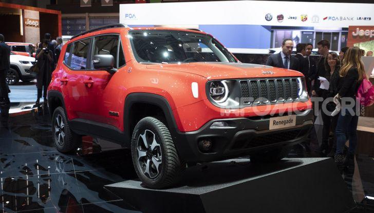 Jeep Renegade e Compass PHEV con tecnologia ibrida plug-in - Foto 6 di 12