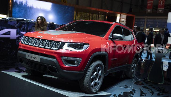 Jeep Renegade e Compass PHEV con tecnologia ibrida plug-in - Foto 8 di 12