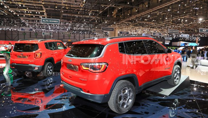 Jeep Compass e Renegade 4Xe: al via le ordinazioni - Foto 14 di 28