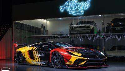 Lamborghini Aventador Liberty Walk, tuning da auto da corsa