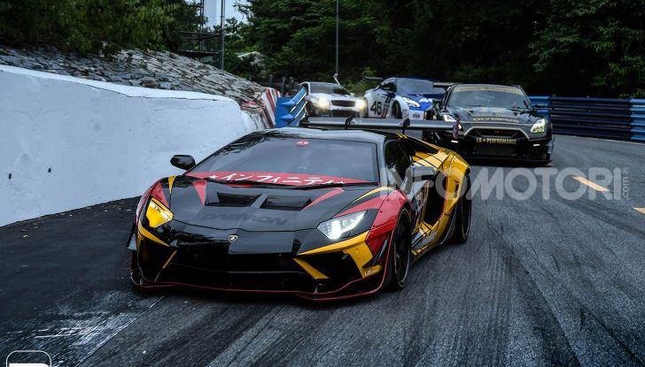 Lamborghini Aventador Liberty Walk, tuning da auto da corsa - Foto 6 di 10