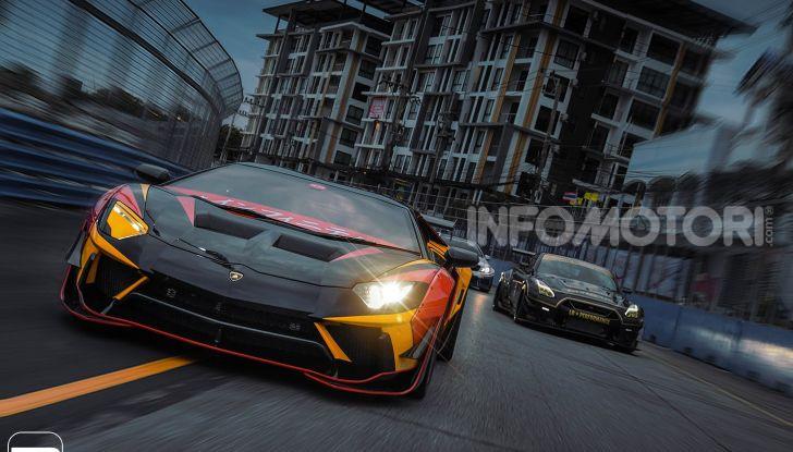 Lamborghini Aventador Liberty Walk, tuning da auto da corsa - Foto 8 di 10