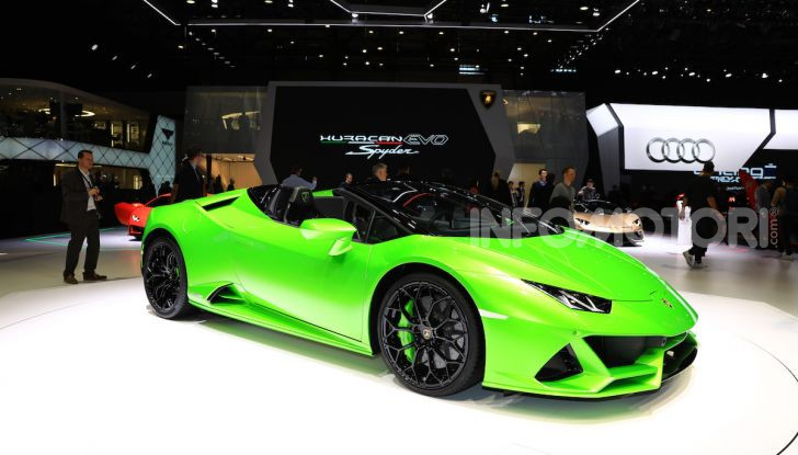 Lamborghini Huracán EVO Spyder - Foto 2 di 32