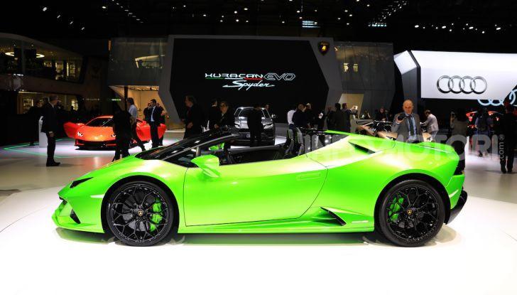 Lamborghini Huracán EVO Spyder - Foto 14 di 32