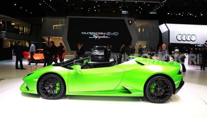 Lamborghini Huracán EVO Spyder - Foto 16 di 32