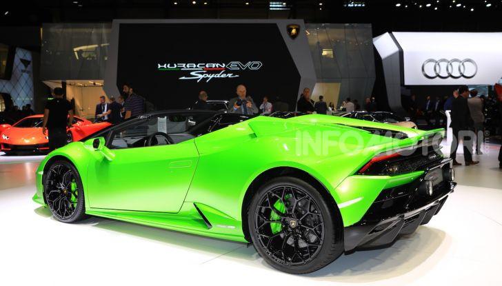 Lamborghini Huracán EVO Spyder - Foto 18 di 32
