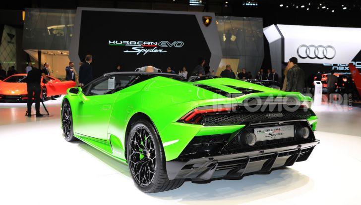 Lamborghini Huracán EVO Spyder - Foto 19 di 32
