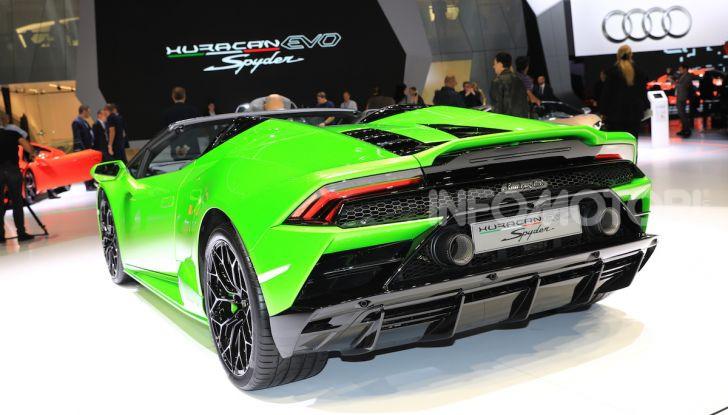 Lamborghini Huracán EVO Spyder - Foto 21 di 32