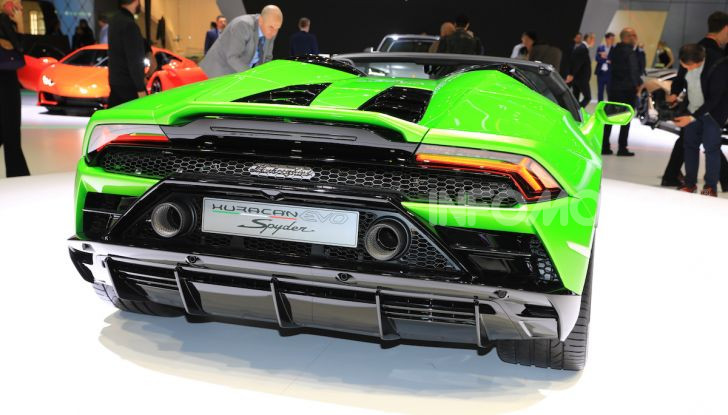 Lamborghini Huracán EVO Spyder - Foto 8 di 32