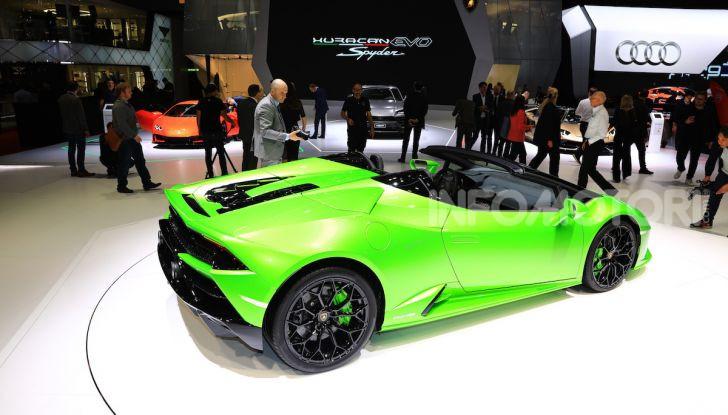 Lamborghini Huracán EVO Spyder - Foto 10 di 32