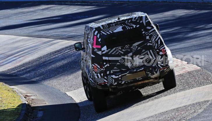 Nuova Land Rover Defender 2020, nuove immagini dei test dinamici - Foto 18 di 18