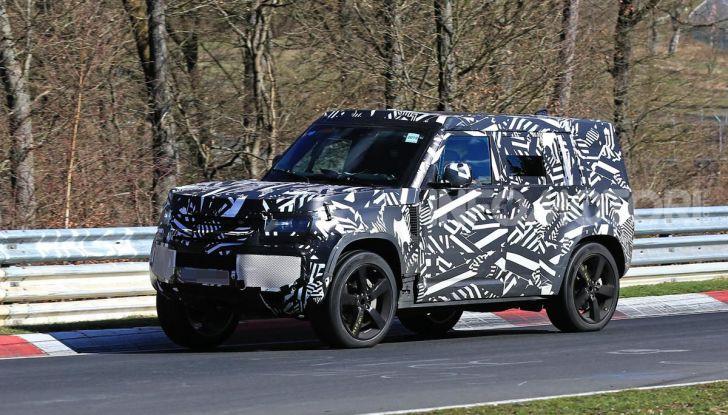 Nuova Land Rover Defender 2020, nuove immagini dei test dinamici - Foto 14 di 18