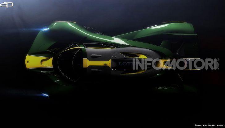 Lotus Evil Vision GT Concept: una nuova rivale per Ferrari? - Foto 9 di 25