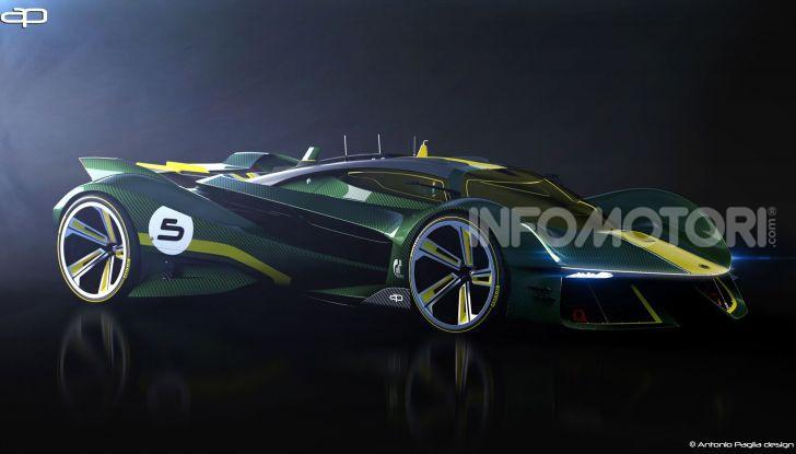 Lotus Evil Vision GT Concept: una nuova rivale per Ferrari? - Foto 15 di 25