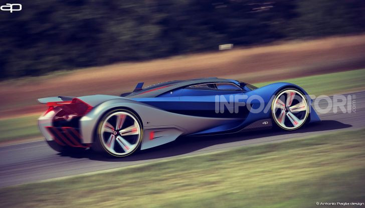 Lotus Evil Vision GT Concept: una nuova rivale per Ferrari? - Foto 8 di 25