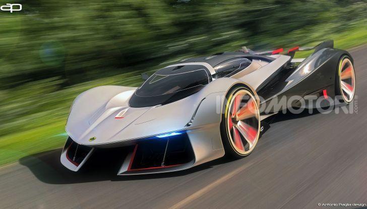 Lotus Evil Vision GT Concept: una nuova rivale per Ferrari? - Foto 16 di 25