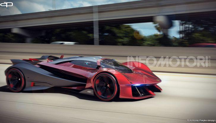 Lotus Evil Vision GT Concept: una nuova rivale per Ferrari? - Foto 18 di 25