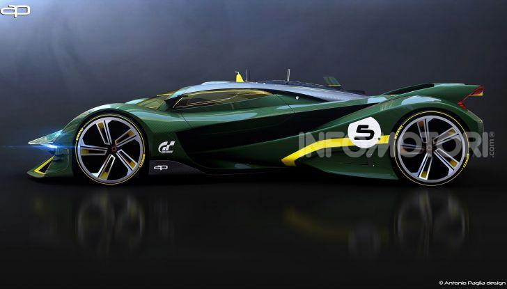 Lotus Evil Vision GT Concept: una nuova rivale per Ferrari? - Foto 20 di 25