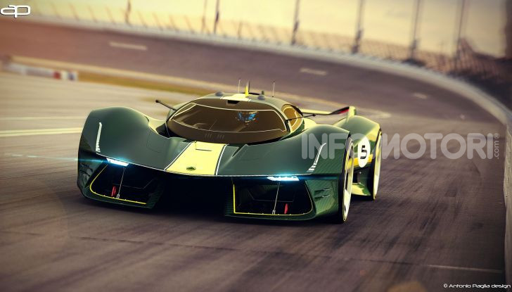 Lotus Evil Vision GT Concept: una nuova rivale per Ferrari? - Foto 2 di 25