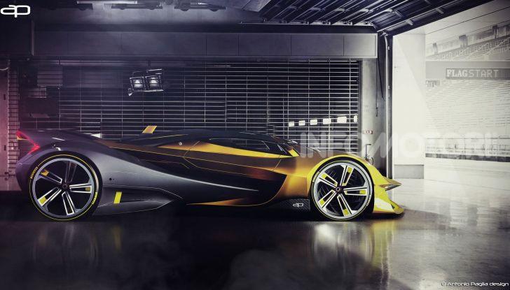 Lotus Evil Vision GT Concept: una nuova rivale per Ferrari? - Foto 7 di 25