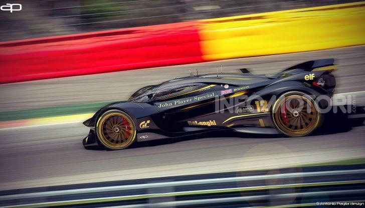 Lotus Evil Vision GT Concept: una nuova rivale per Ferrari? - Foto 5 di 25