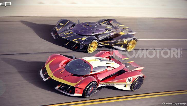 Lotus Evil Vision GT Concept: una nuova rivale per Ferrari? - Foto 4 di 25