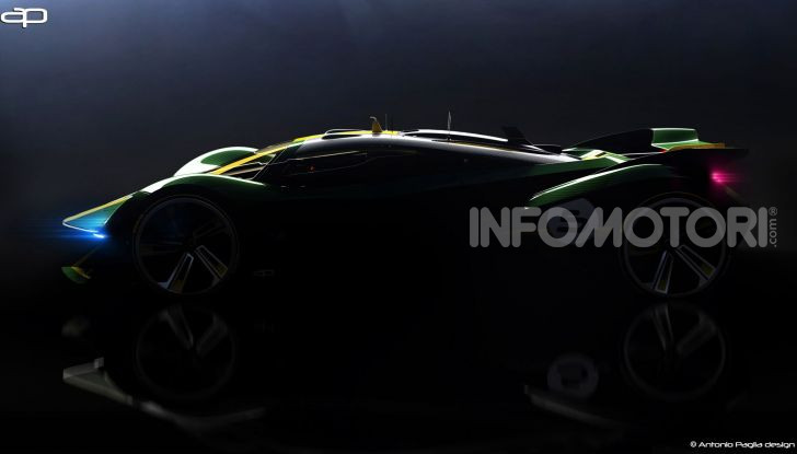 Lotus Evil Vision GT Concept: una nuova rivale per Ferrari? - Foto 23 di 25