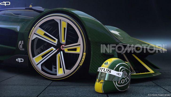 Lotus Evil Vision GT Concept: una nuova rivale per Ferrari? - Foto 24 di 25