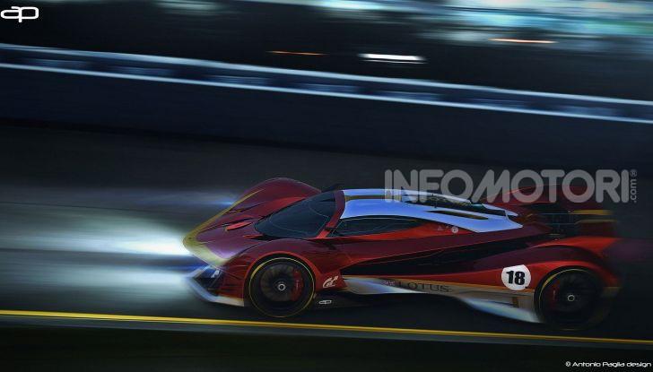 Lotus Evil Vision GT Concept: una nuova rivale per Ferrari? - Foto 25 di 25