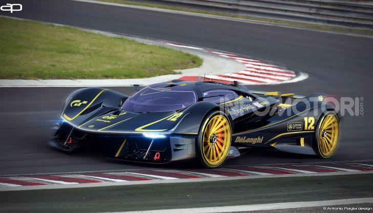 Lotus Evil Vision GT Concept: una nuova rivale per Ferrari? - Foto 3 di 25