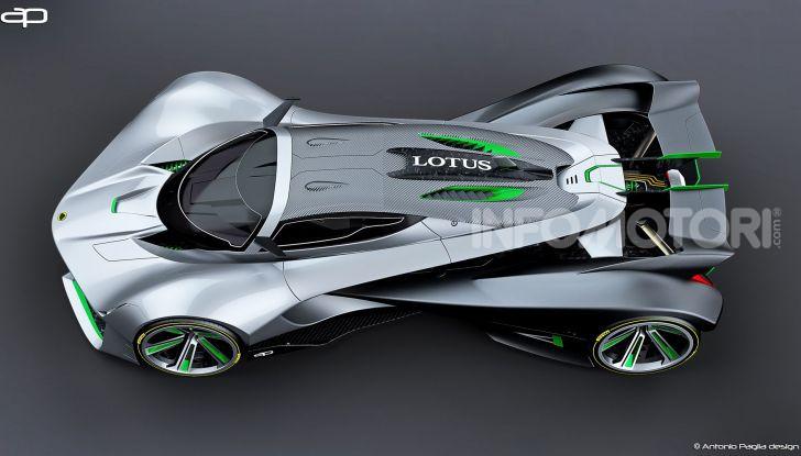 Lotus Evil Vision GT Concept: una nuova rivale per Ferrari? - Foto 10 di 25